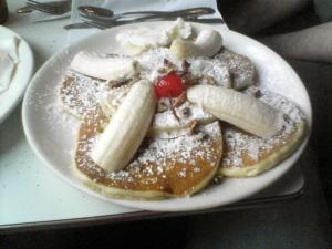 caribbean pancakes at Pancake Pantry