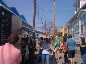 Grilled Cheeserie food truck in East Nashville